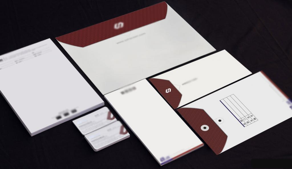 信封信纸设计印刷