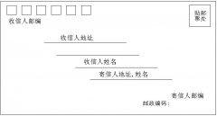 信封书写格式怎么写